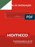 Manual Instalacao KOM2S24FC