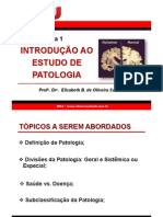 Aula 1 Introducao Patologia Profa Elizabeth Sales