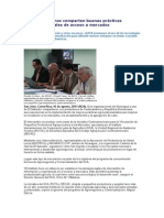 Centroamericanos comparten buenas prácticas agroempresariales de acceso a mercados