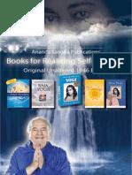 Ananda Sangha Publications Catalog 2012-2013