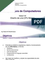 Arquitectura de Computadores - Sesion 07-10
