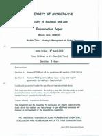 02 - HRM325 exam_April 20120001