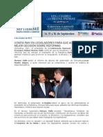 02-10-2013 Blog Rafael Moreno Valle - CONFÍA RMV EN LEGISLADORES PARA QUE ACUERDEN LA MEJOR DECISIÓN SOBRE REFORMAS
