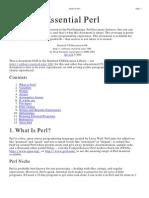 Essential Perl