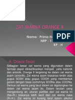 Zat Warna Orange II