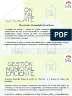Gestion Municipal Eficiente PWP