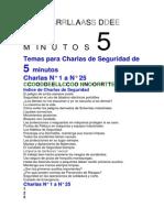 charlas 1 -25