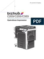 Bizhub c203 c253 c353 (Operation Impressions)2-1-1 Fr