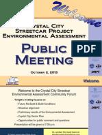 October 2 Public Meeting - Presentation