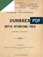 Nenitescu-Dunarea in Dreptul International Public-1903
