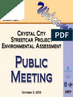 October 2, 2013 Public Meeting Display Boards