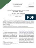 Mechano-Chemical Leaching