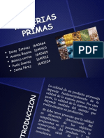 Materias Primas Expsoicion Ok Operaciones