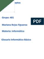 Glosario Informatico Basico Mariana Rojas 401