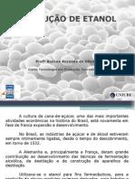 Aula Produção de Etanol - Materia Prima