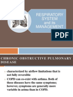 Respiratory and Cardiovascular System Lecture