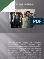 Diapositivas Expo Clima Laboral