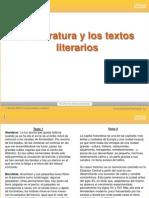 Lenguaje Textos Literarios Y RECURSOS