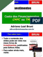 Aulas de Investimentos Custo de Capital
