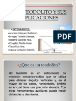 Teodolito y Sus Aplicaciones (1)