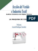 Análisis Sistémico de Objeto Técnicomaquinadecoser