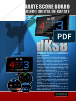 Digital KARATE SCORE BOARD - TABLERO DE KARATE