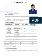 Saravanakumar Resume