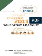 Scrum CheckList 2011