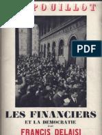 Delaisi Francis - Les Financiers Et La Democratie