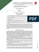 BOCM Ordenanza Conservación y rehabilitación 2011