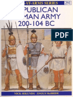 Osprey, Men-At-Arms #291 Republican Roman Army 200-104 Bc[Osprey Maa 291]