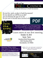 Youth Pride Flyer