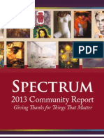 Spectrum's 2013 Community Report