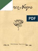 Revista Blanco y Negro 140