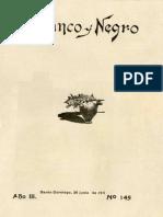 Revista Blanco y Negro 145