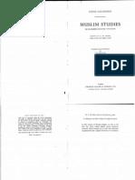 Muslim Studies part one