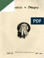 Revista Blanco y Negro 153