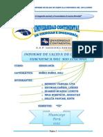 El Primer Informe de Hidrologia de La Salida a La Colombina