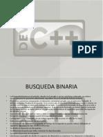 exposicion busqueda binaria