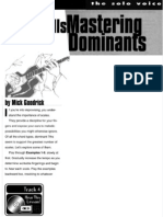 Mastering Dominants