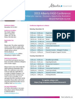 2013 Fas d Conference Registration Guide