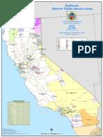 California Electric Utility Service Areas