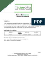 Esquema Geral Do Curso Impress LibreOffice 2013.6