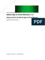 Splunk ActiveDirectory 1.1.4 DeployAD