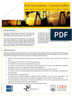 Essentials of the Oil & Gas Industry – Course Outline
