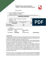 Syllabus Medicina Familiar 1