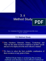 3.II Method Study