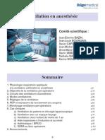 Ventilation Anesthesie Guide de Poche v1 Septembre 2007