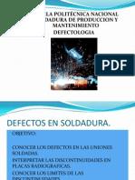 Capítulo 9. DEFECTOS EN SOLDADURA.