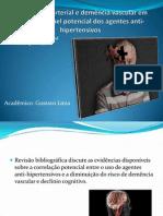 Hipertensão arterial e demência vascular em idosos